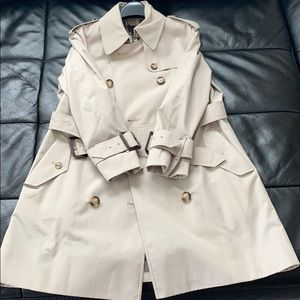 Burberry trench coat. Size 10